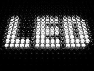 Light-emitting diode (LED) sign