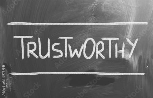 Trustworthy Concept