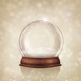 Fototapety Snow globe