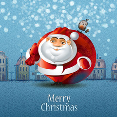 Merry Christmas. Vector illustration