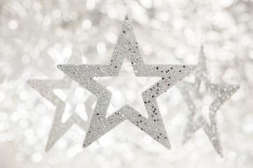 Weihnachtssterne silver