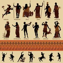 Alle 12 griechischen Götter und Antike Mythologie