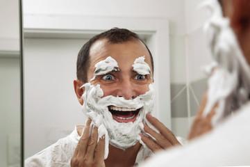 Shaving make me fun!