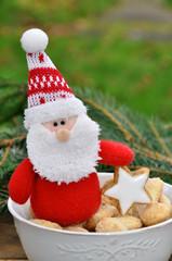 Gebäck zu Weihnachten