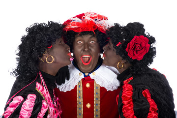 Zwarte Piet is in love