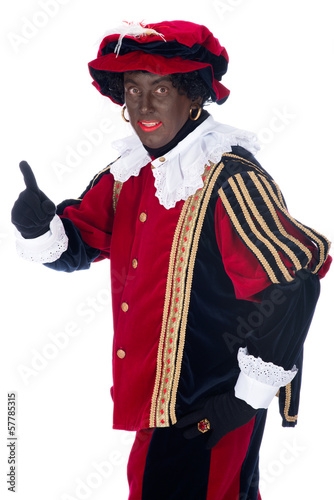 Portrait of Zwarte Piet
