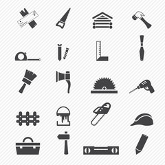 Carpentry icons