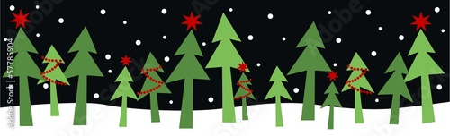 merry christmas header banner