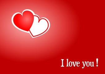 Karte - I love you !