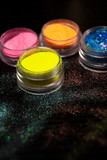 Colorful powder for nails