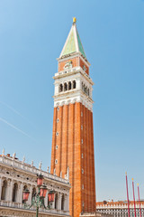 San Marco Campanile - bell tower of Saint Mark cathedral