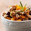 contorno di funghi e carote
