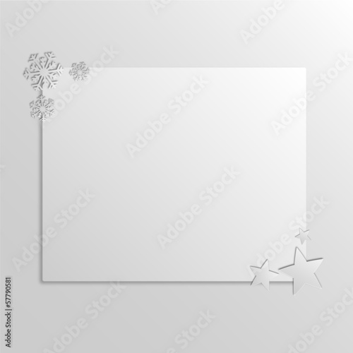 Graphic design - Christmas Card, 2d effect