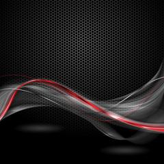 czarno czerwone tło