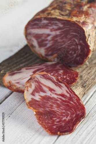 Spanish cured loin