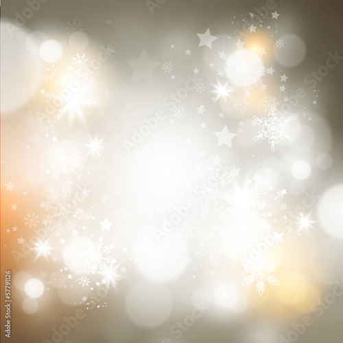 Shimmering Christmas Background