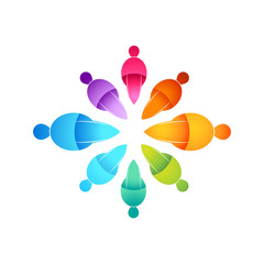 People Connected Icon