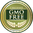 GMO Free Certified Label