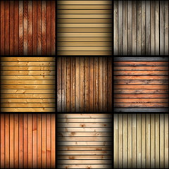 collage of different wooden tiles