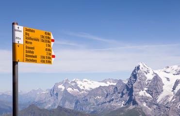 Alpine Signpost