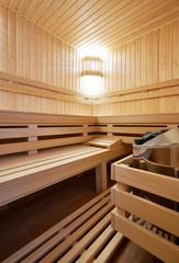 Sauna classic wooden