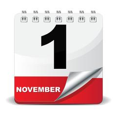 1 NOVEMBER ICON