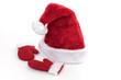 Weinachtsmütze und Handschuhe vom Nikolaus