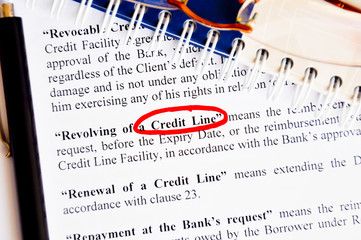 credit line facility