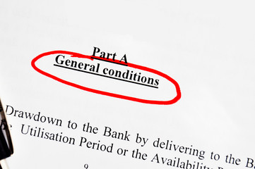 contract general conditions