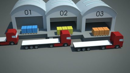 load consolidation strategies - hub and spoke cross-docking