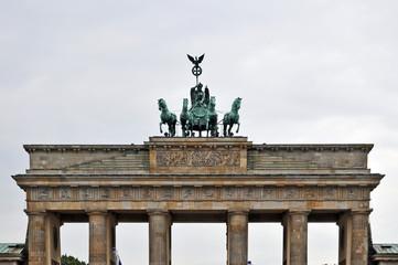 Berlino, la porta di Brandeburgo (Brandenburger Tor)