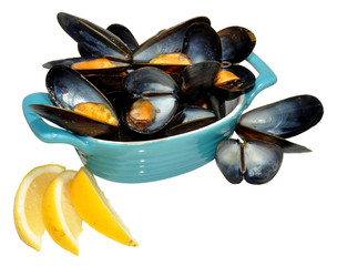 Cooked Mussels