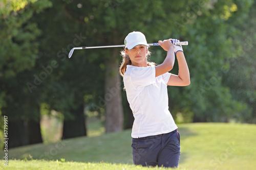 Papiers peints Golf Golfista