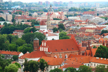 Vilnius old town, Lithuania