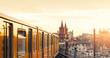 Leinwanddruck Bild - Berlin   Oberbaumbrücke