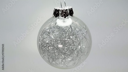 Christmas glass decoration ball
