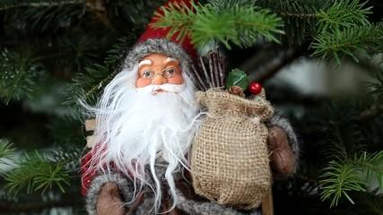 Santa claus with big beard
