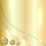 golden metallic background
