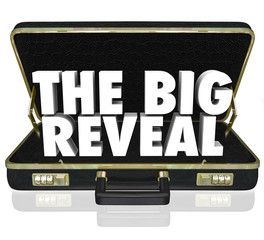 The Big Reveal Opening Briefcase Revealing Mystery Inside