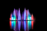 Fototapety Dancing fountains