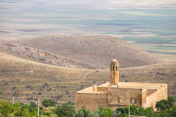 The cityscape of Mardin , Turkey
