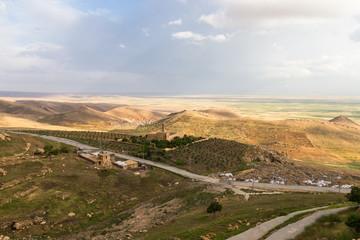 The cityscape of Mardin , Turkey