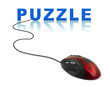 Computer mouse and word Puzzle
