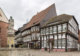 Einbeck downtown, Germany