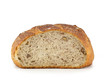 Bread from wheat flour, whole grain bread with walnuts.