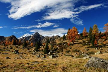Carè Alto dal sentiero per i laghi di San Giuliano