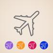 vector plane icons