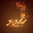 happy new year 2014. holiday background
