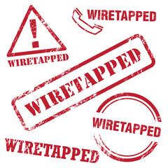 Wiretapped Stamp