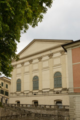 old teather rear side, Rieti